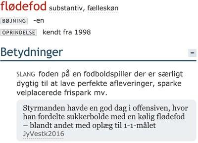 1.685 ord føjes til Den Danske Ordbog