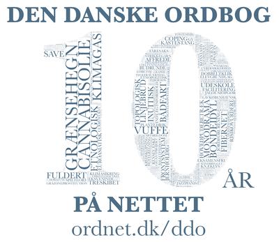 Den Danske Ordbog: 10 år på nettet