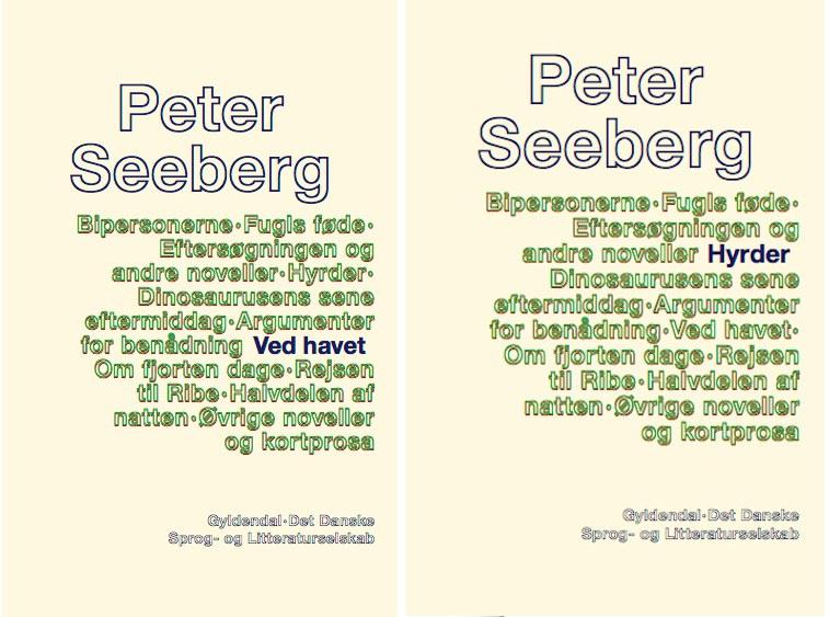 Himlen og havets evighed: Peter Seebergs mesterlige sidste romaner genudgives