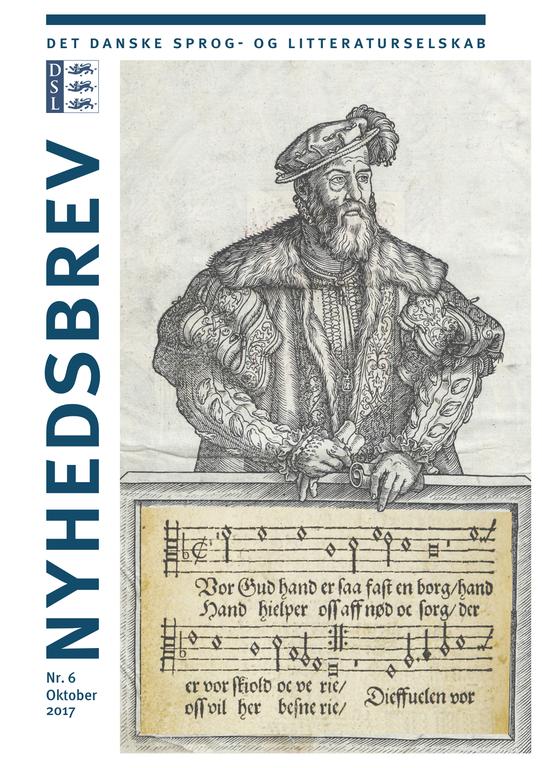 Nyhedsbrev nr. 6: Reformationsjubilæet, Frank Jæger og hvad fruerne Marsvin foretog sig på gulvet