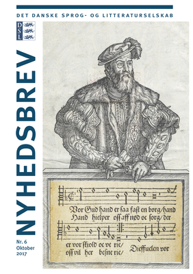 Nyhedsbrev nr. 6: Læs bl.a. om reformationsjubilæet, Frank Jæger og hvad fruerne Marsvin foretog sig på gulvet